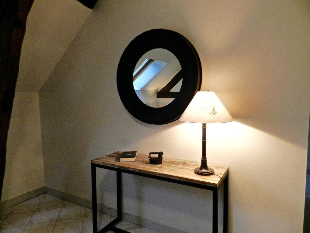 La Chendauderie: Décoration d'une chambre du gîte de Pur Cheval